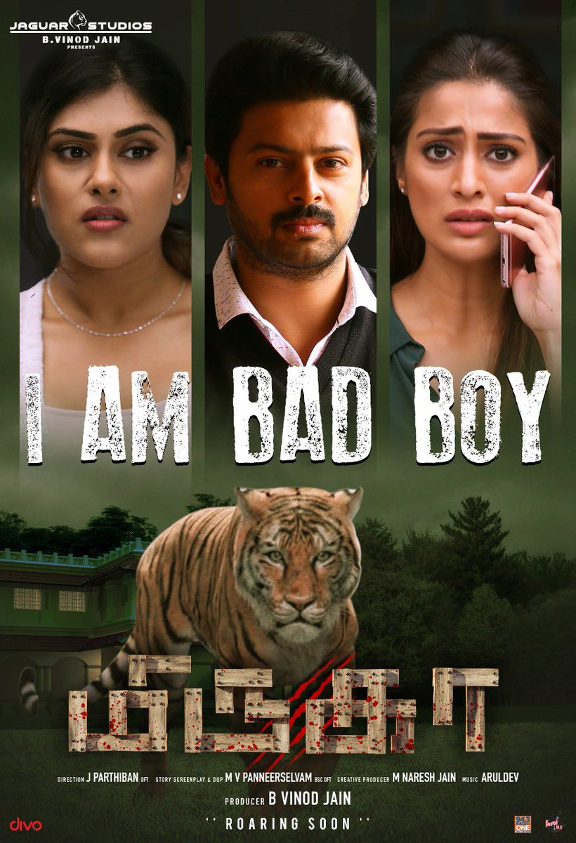 Here is #IamBadBoy (Lyrical) from #Mirugaa Best wishes to the team   https://t.co/gA1SPJmVuK  @ijaguarstudios @Act_Srikanth @iamlakshmirai @iamvinodjain @nareshjain2682 @mv_panneer @ArulDevofficial @ShwetaMohan @ranjithkg  @onlynikil @divomovies https://t.co/6LU3apTorn