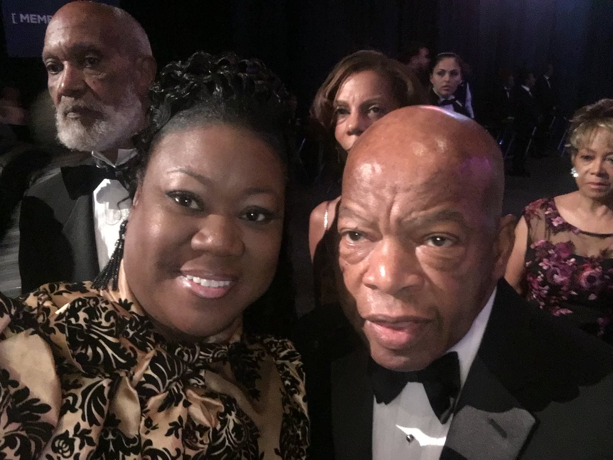 RIP to the Legendary John R. Lewis, lifelong Civil & Human Rights icon. You will be missed dearly by so many. Heaven has gained another great man, your life's work speaks volumes 🙏🏾🙏🏾 #JohnLewis 🙏🏾🙏🏾