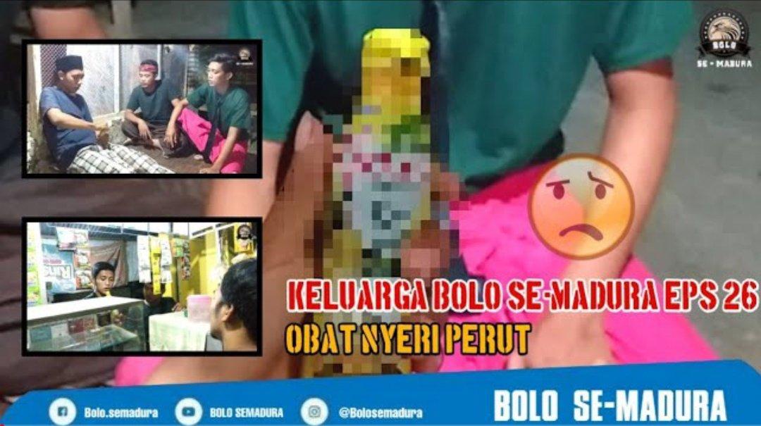 """Obat Nyeri"" Komedian dari Madura, Insyaallah akan menghibur kalian (jangan lupa like komen dan subscribe) ya temen2  Channel : BOLO SEMADURA https://youtu.be/pjDSKdME5Dk  #Komedian #standupkomedi #viralindonesia #faktaindopic.twitter.com/Rx0azyuViA"