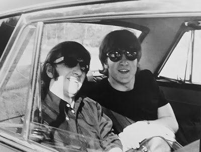 Ringo and John The #Beatles via @martina2181