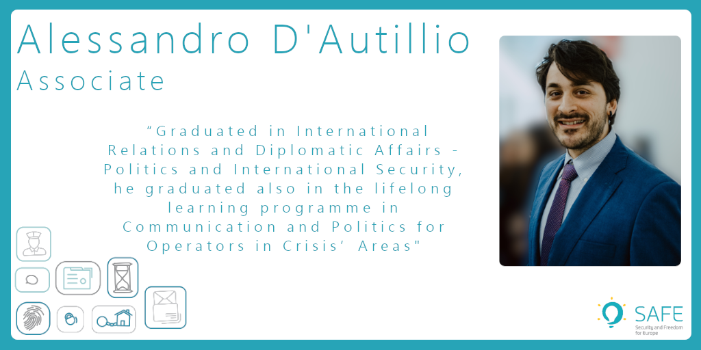 Meet Alessandro, Associate at SAFE! Project Manager for the EU CoE P73 Lebanese component and member of the Balkan Asset Management Interagency Network Secretariat. Through his career, he lived in Israel, Jordan, Romania and The Netherlands. #WeAreSAFE #SAFETeam #ActivityReport https://t.co/t6m2kAkQmr