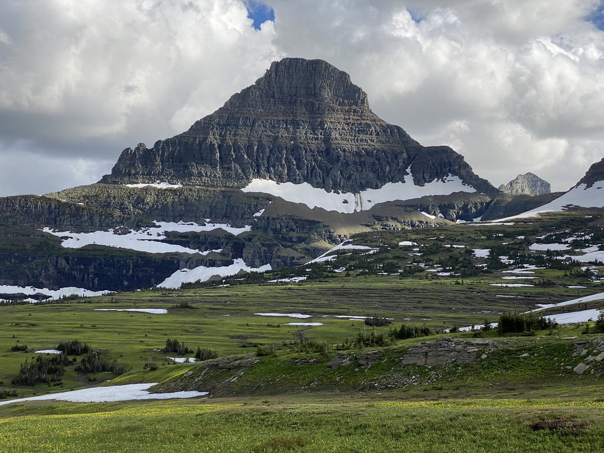 SeanBits - Another picture from Glacier National Park yesterday, more pics to come #glacier
