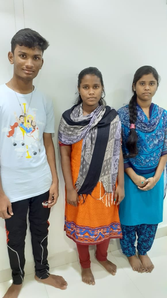 Hi friends and fans, They came to me as small kids now they have passed their 12th examination. I pray ragavendra swami for them to reach heights in their life. Need all your blessings for these children. 🙏