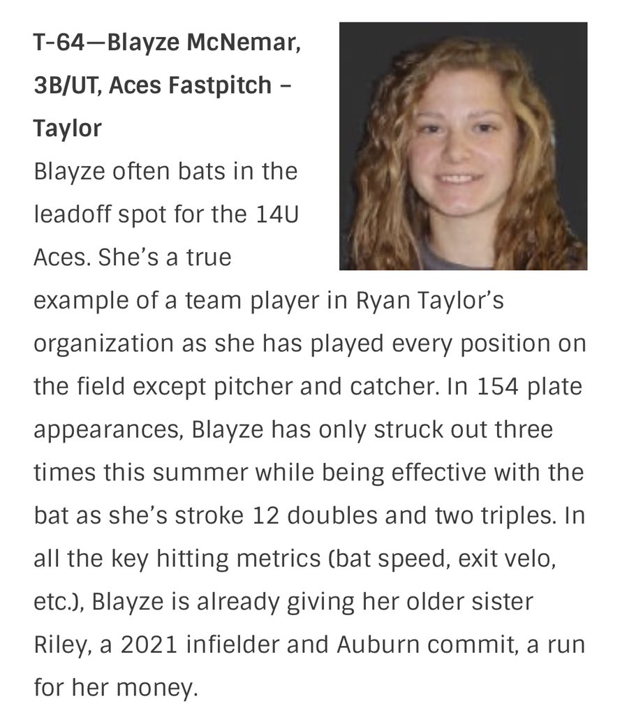 Shoutout to Blayze coming in elite on the @ExtraInningSB #elite100 #64!! https://t.co/WpetrM4Vyz https://t.co/aRduE3cTix