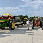 Image for the Tweet beginning: #keepmissourifarming #tractorcruise 75 tractors strong