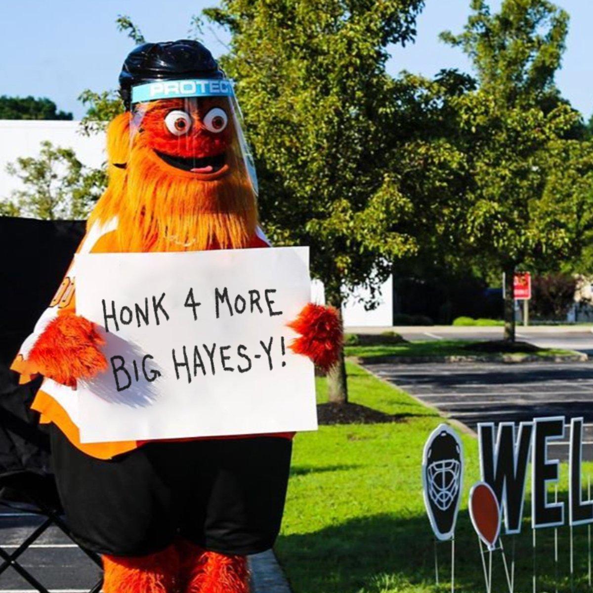 Replying to @yardsbrew: HONK 4 MORE BIG HAYES-Y!