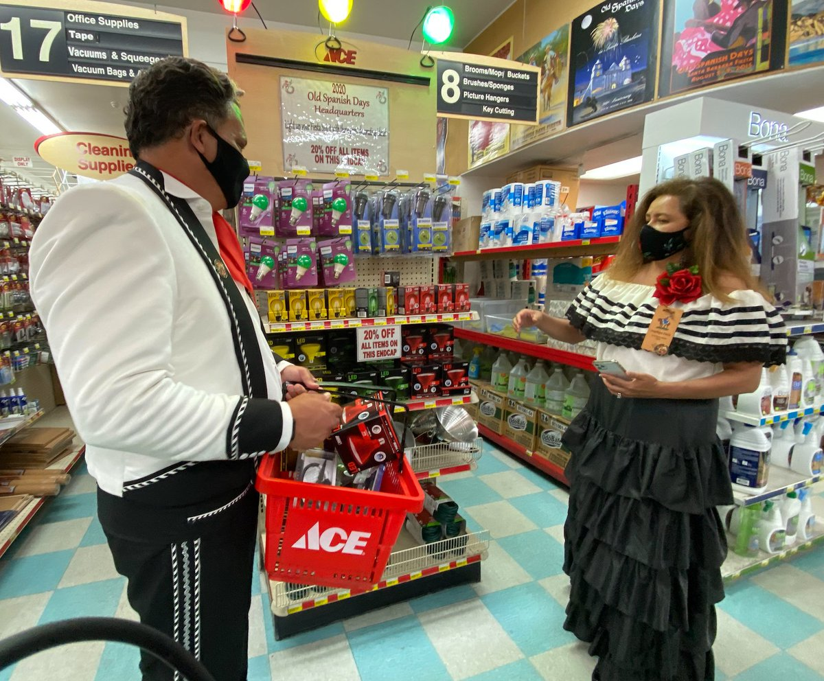 John Palminteri A Twitteren Light Up Your Fiesta Spirit The Home Improvement Center Ace Hardware Store In Santa Barbara Is Ready Old Spanish Days Posters Pins Bunting And Lights The