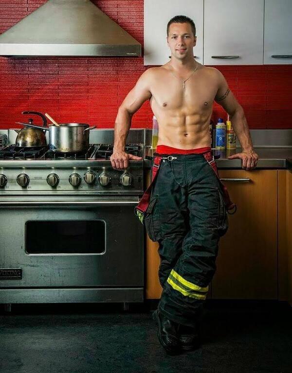 My Firefighter Has A Hot Ass
