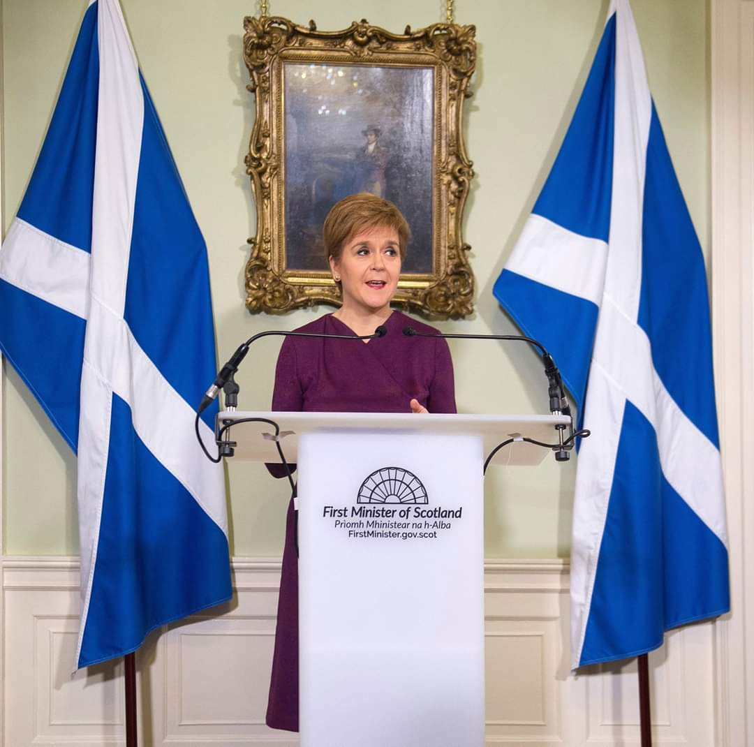 💙 Like and RT if you agree that @NicolaSturgeon is doing a great job 💙 https://t.co/LEGnffEvrj