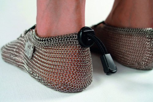 gost barefoots chainmail barefoot shoes by jörj peitzker