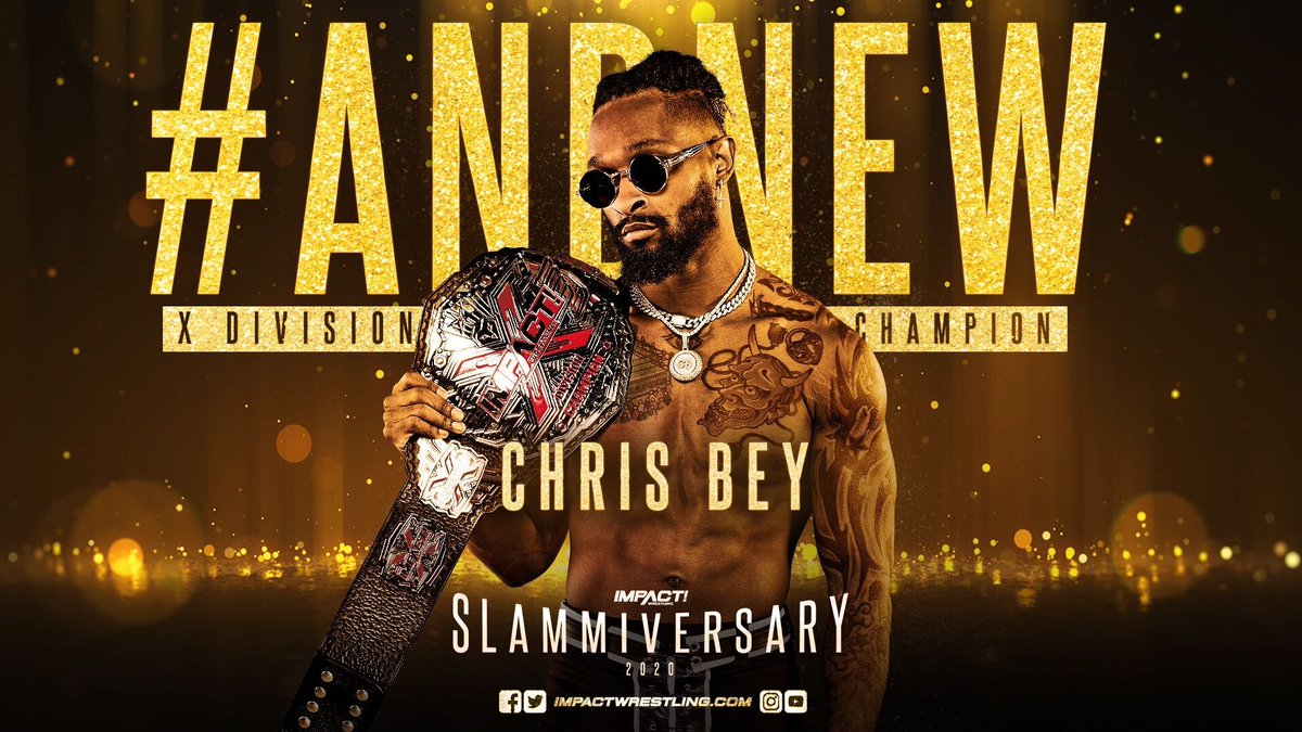 First Championship Title Change At Impact Wrestling's 'Slammiversary'