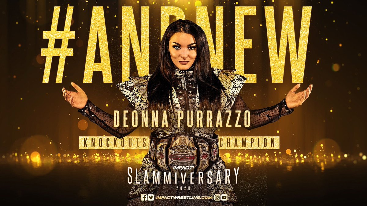 Former WWE Star Becomes The New Impact Knockouts Champion At 'Slammiversary'