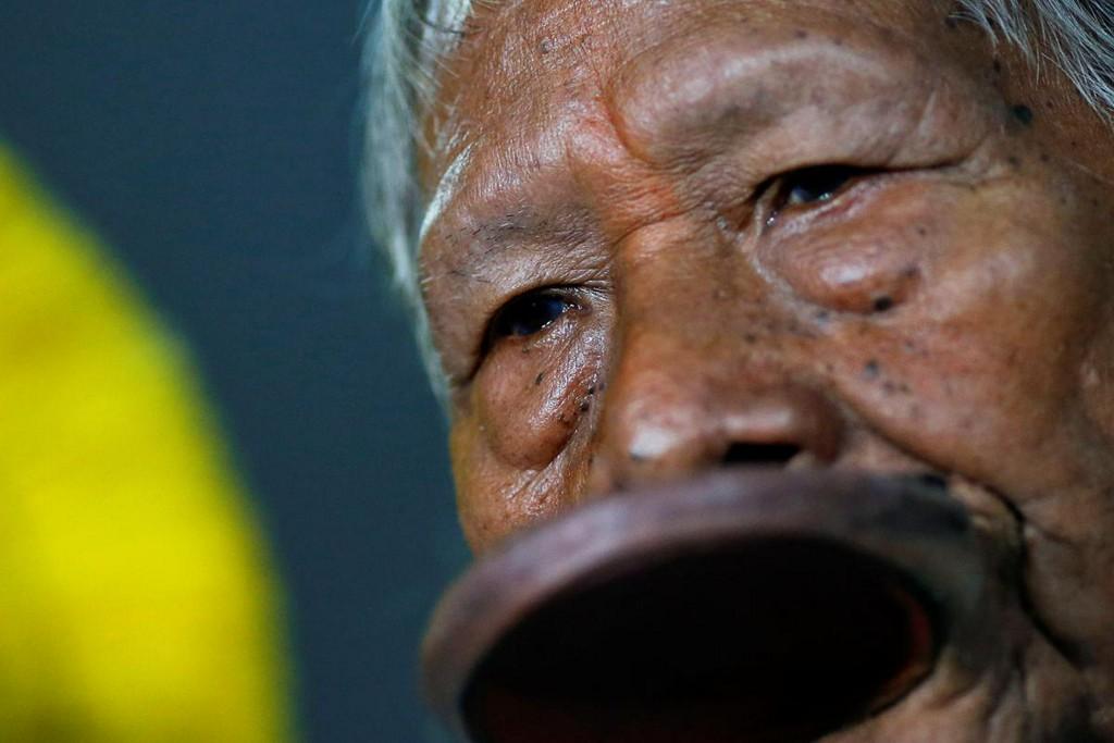 Brazil's Amazon chief Raoni is hospitalized
