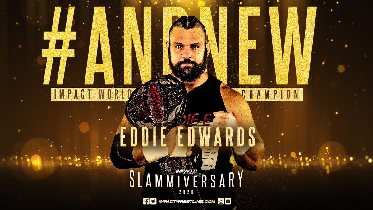 Eddie Edwards wins the Impact World Championship