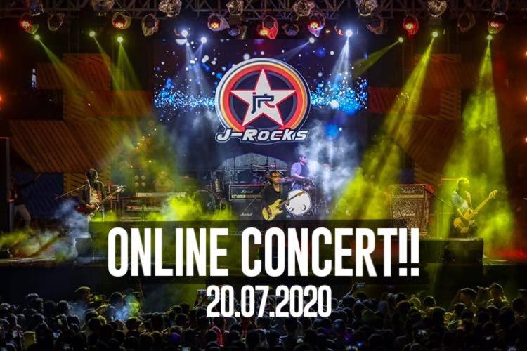 KONSER SAWER #3 with J-ROCKS live streaming on Facebook page J-ROCKS  Tanggal 20 Juli 2020, jam 8 malam Kita sudah mulai OPEN SAWER/DONASI bisa lihat ke foto berikut 👉 untuk no rekening dan scan QR nya.  Yuk peduli dan mengapresiasi band dalam bermusik. https://t.co/PhfJyo2bKL