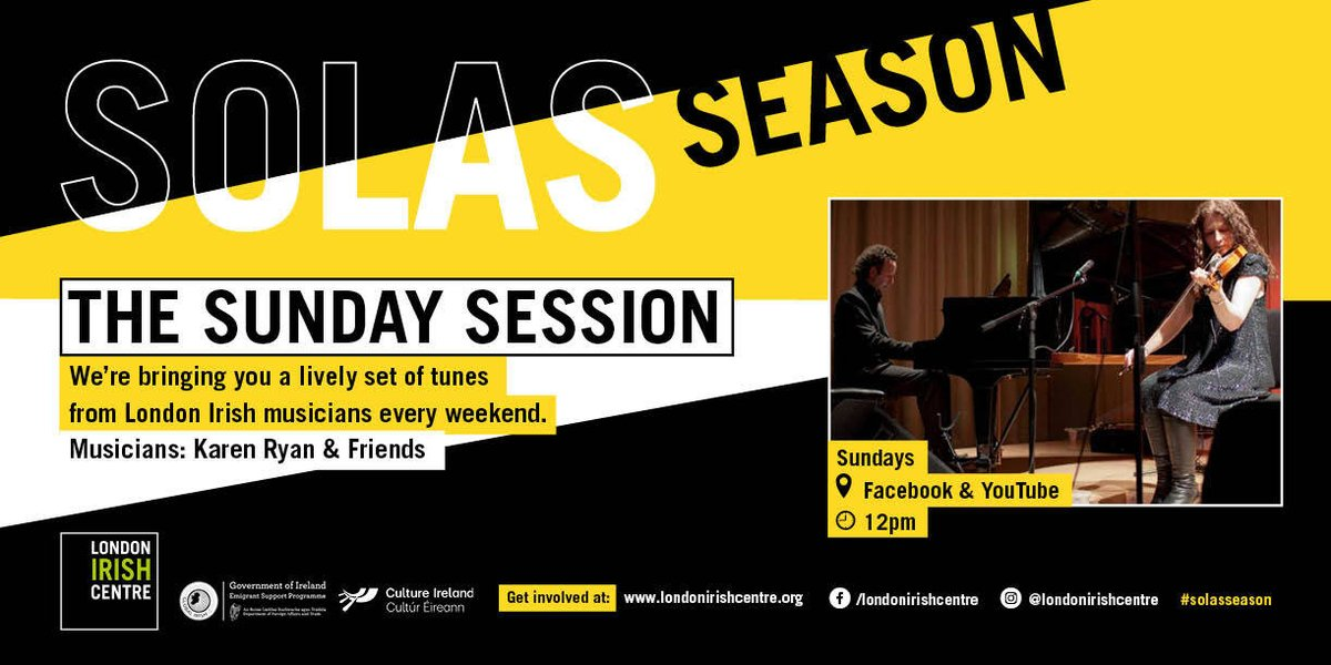 At 12, we will be sharing our favourite Sunday Session from these past few weeks. Which was your favourite?