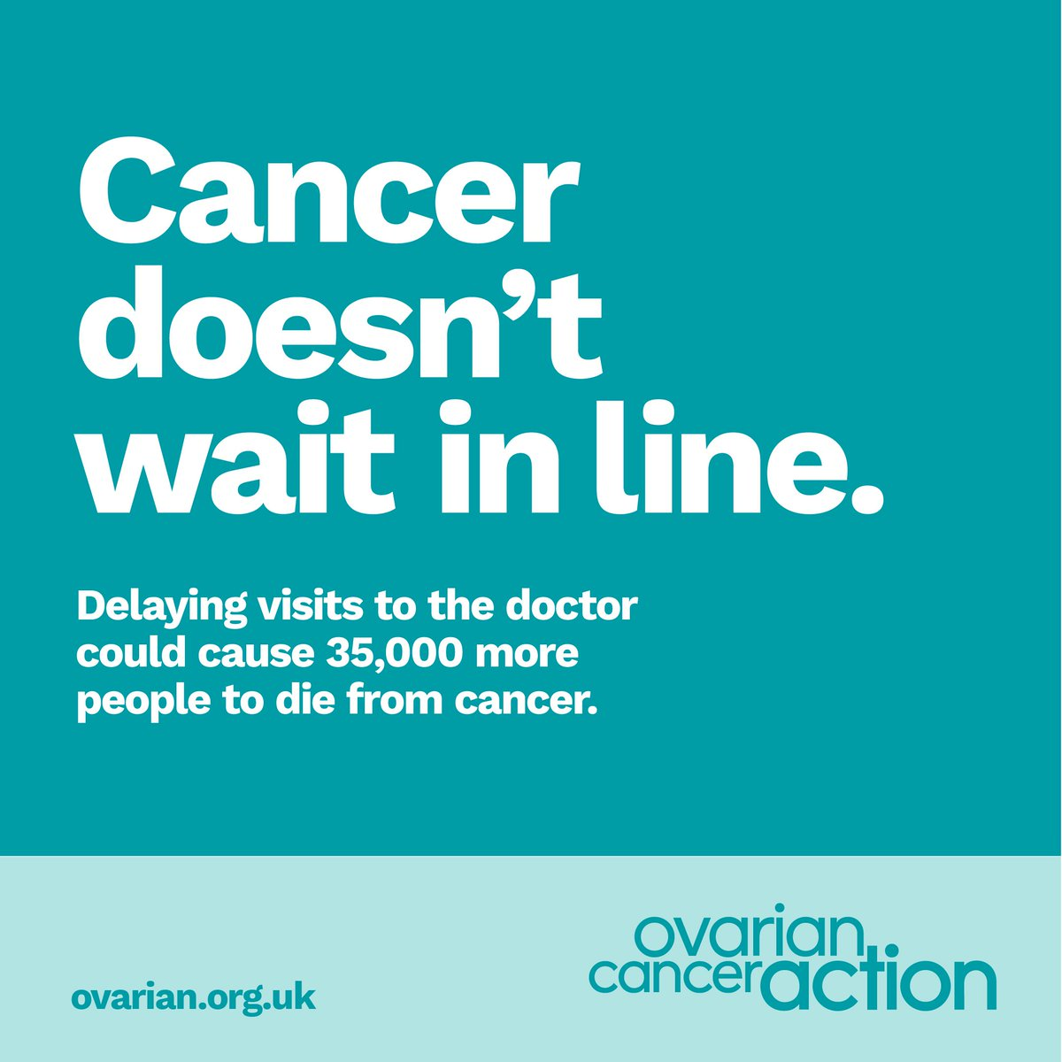 Ovarian Cancer Action On Twitter Stomach Pain Bloating Loss Of Appetite And Frequent Weeing Are All Symptoms Of Ovarian Cancer If You Re Experiencing Anything Unusual Your Doctor Wants To See You Find
