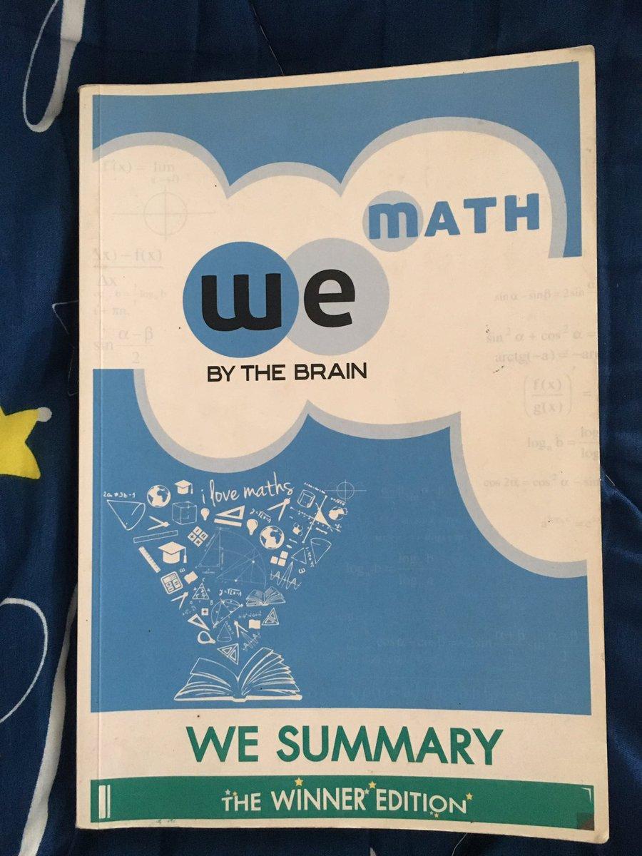 ขายหนังสือ we sumary คณิตของเดอะเบรน 📌ขาย290 ส่งฟรี!! 📌สภาพดี 📌สนใจสอบถามได้ค่ะ😊 #หนังสือเตรียมสอบ #dek64 #dek65 #dek66  #9วิชาสามัญ #gatpat #กสพท #สอวน #หนังสืคณิต #สรุปคณิต #หนังสือมือสองสภาพดี  #สรุปเลข https://t.co/bdIlHHjrVM