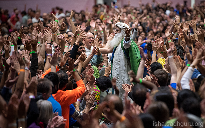 Wherever you are, whatever you do – This Is The Time for you to rise and show what you are made of. #SadhguruQuotes