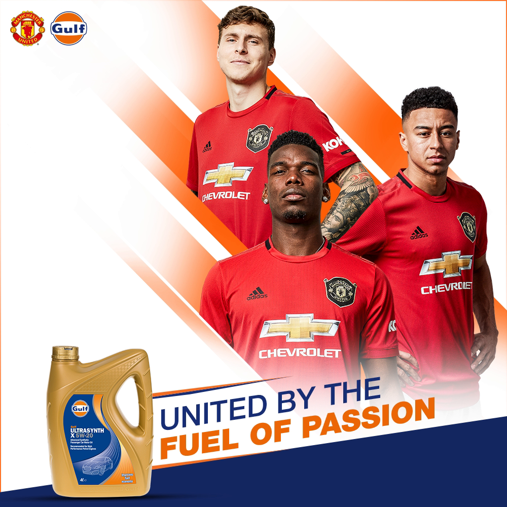 Whether it is on the field or on the road, amongst the fans or the customers - Passion is the fuel that unites us. Always has, always will. 🔴    @ManUtd V Chelsea Wembley. 19.07.20. 6:00 PM BST  #GulfOilInternational #ManchesterUnited #GGMU #Football #MUFC https://t.co/8YJm8Ero0L
