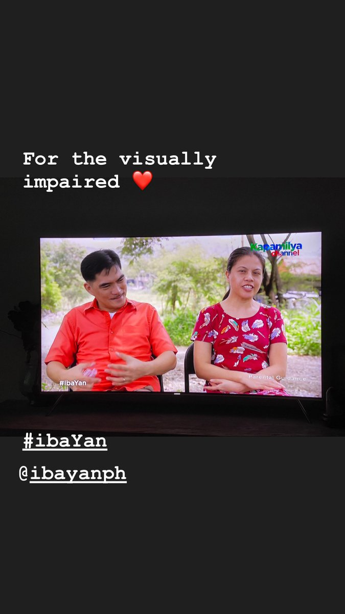 For the visually impaired ❤️ #ibaYan