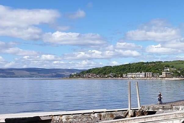 Good morning from Largs! Here's your #LocalInvite to join us today. #LetsSpoon #DiveIn