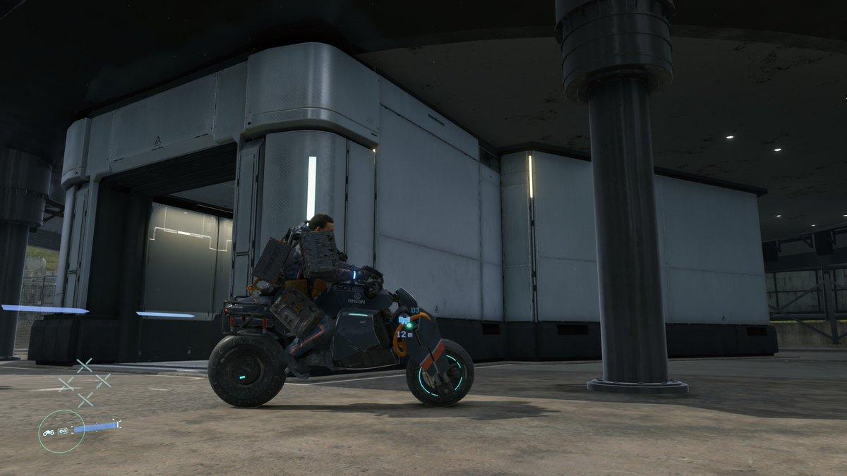 た バイク 壊れ デス スト ランディング
