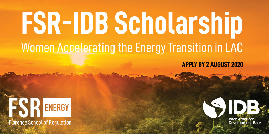 SCHOLARSHIPS l 🙋🏽♀ @FSR_Energy and @BIDenergia launch 2️⃣0️⃣ #scholarships for women accelerating the #energy transition in #LatAm and the #Caribbean. Learn more about the call here: https://t.co/FZq6lKxh1L. https://t.co/jpdeLDfNuq