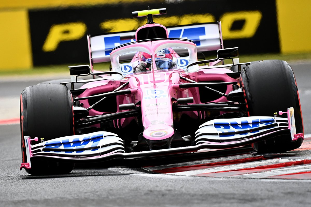 What a drive @lance_stroll!! P4⃣!! Get in there!! 🤜🤛  #HungarianGP #F1 https://t.co/vkb8VMflnH