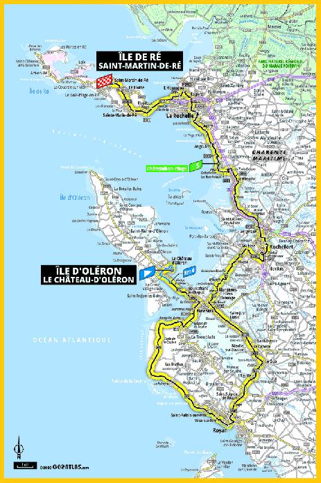 Carte Charente Maritime