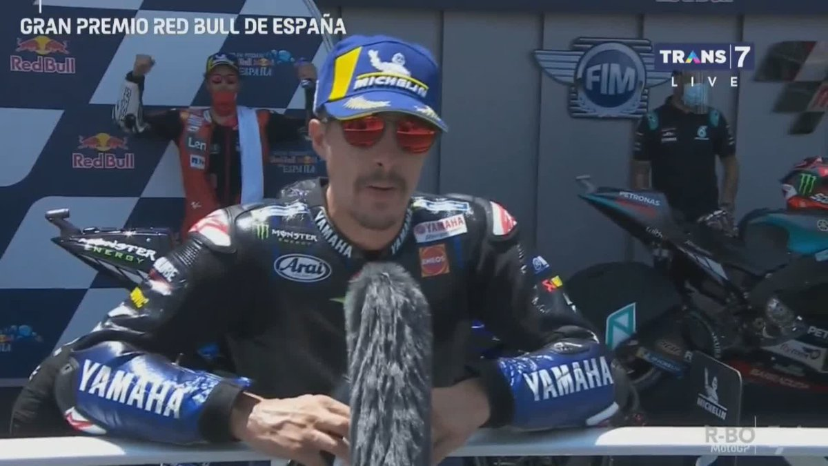 Testimoni tiga pembalap yang naik podium, Selamat!  #SpanishGP https://t.co/PSgPvKDcu6
