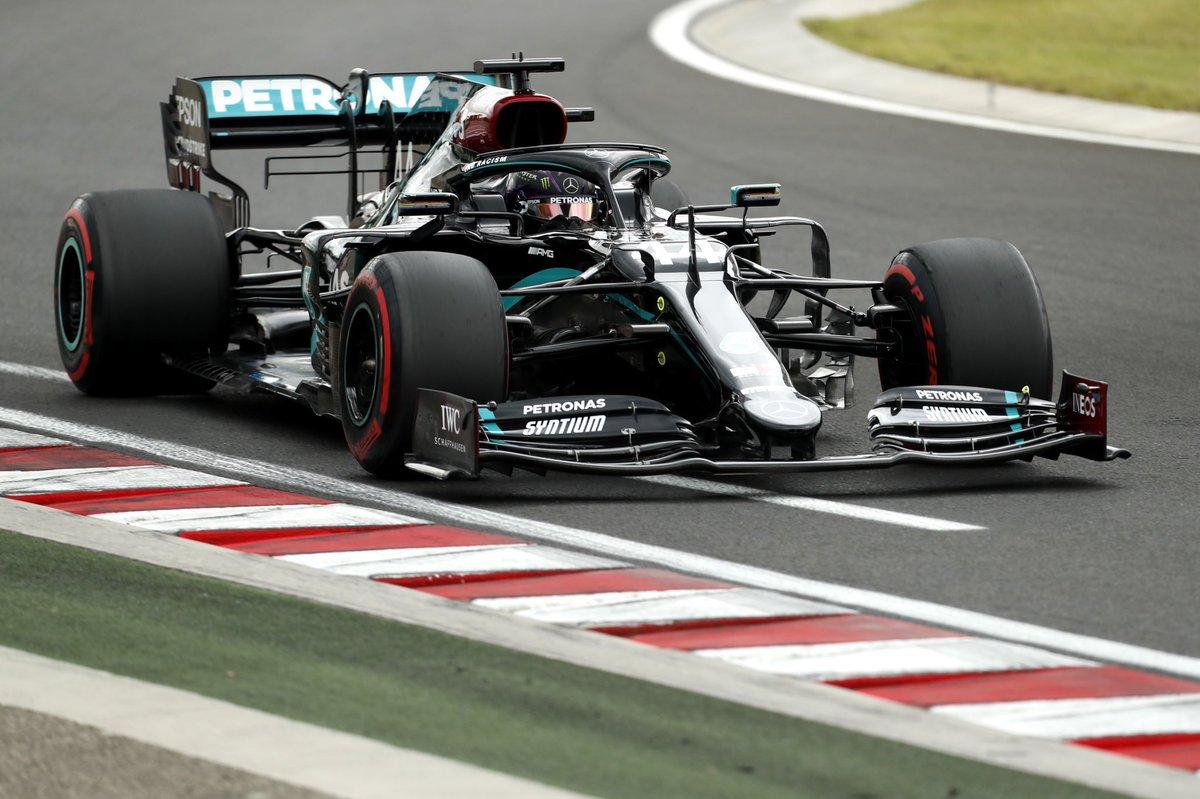 #F1 #HungarianGP | Victoria aclaparadora de Hamilton seguido de Verstappen y Bottas. Stroll consigue ser cuarto y Sainz puntúa en @HungaroringF1 https://t.co/9K7zYffiAU