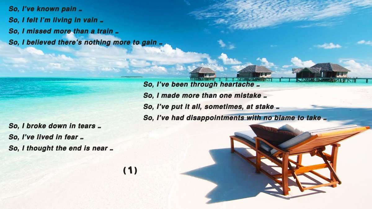 #quotes english version of #yamrayti 😉 @elissakh