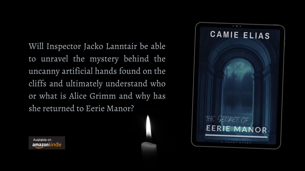 The Secret of Eerie Manor: A Short Story Free with #KindleUnlimited Australia amazon.com.au/dp/B08D3RMCTB UK amazon.co.uk/dp/B08D3RMCTB US amazon.com/dp/B08D3RMCTB #ShamelessSelfpromoSunday #Kindle #books #amwriting #gothic #scifibooks #readingcommunity #kindledeals #KindleBooks