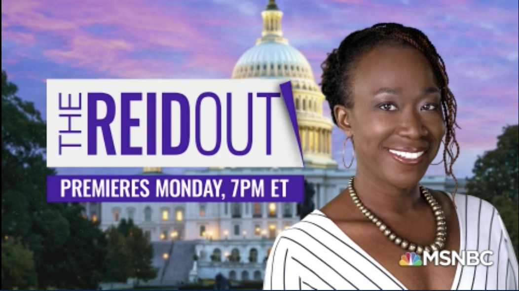 THANK YOU #reiders for making #AMJoy a huge success. The #AMJoy brand continues with new guests hosts you'll love, as we celebrate @JoyAnnReid's ascension to prime time with her highly-anticipated 7 PM ET weeknight debut tomorrow: THE REIDOUT!   RETWEET to wish Joy all the best! https://t.co/dkR23gMk18