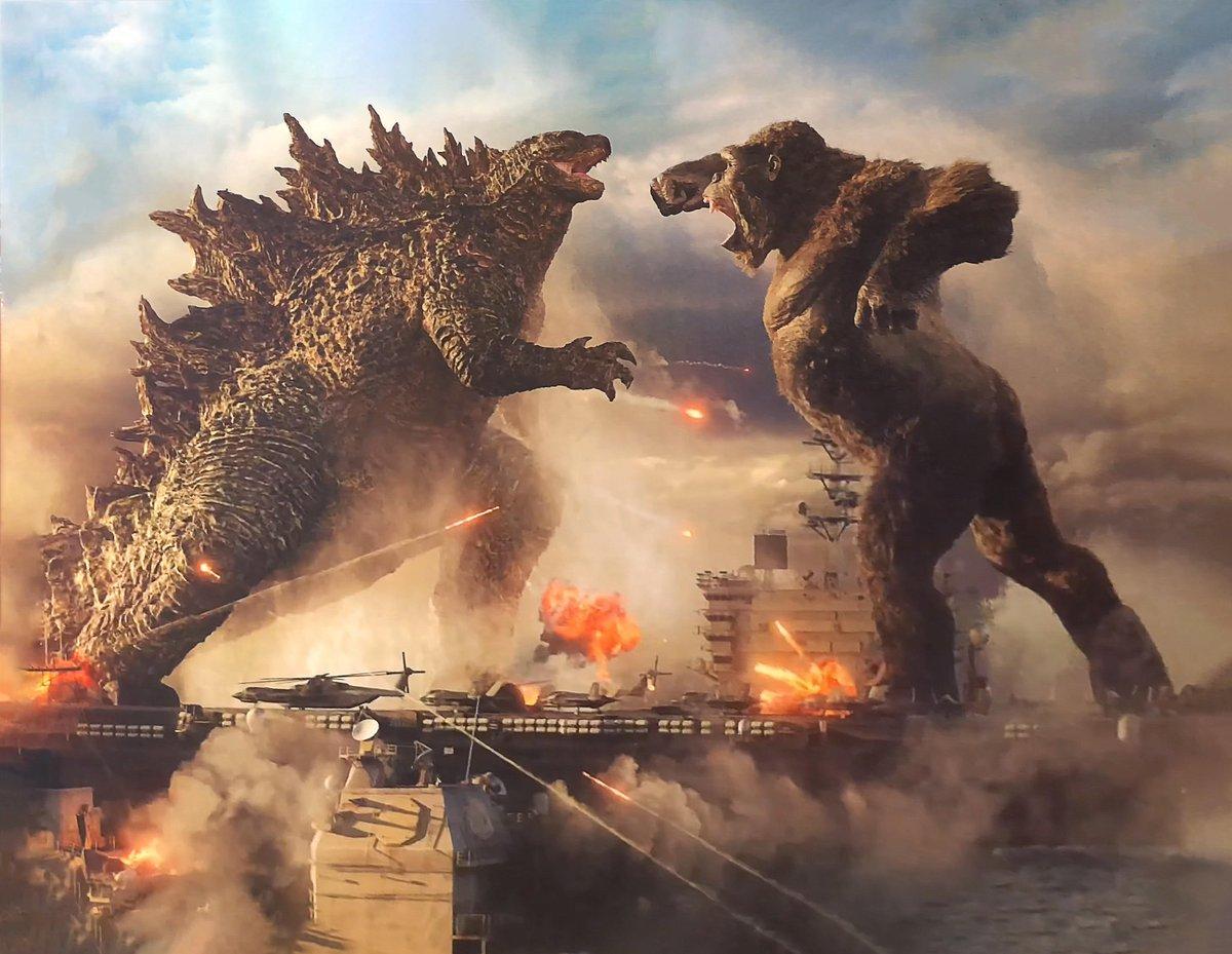 A Promotional Godzilla vs. Kong Poster Debuts