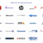 Image for the Tweet beginning: Have you met our partners?