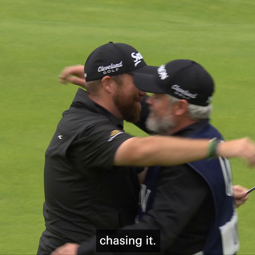 Reigning Champion. #HSBCGolf #TheOpenForTheAges @TheOpen As we enter the final day of The Open for the Ages, Open Champion @ShaneLowryGolf reminisces with @BrianODriscoll on the moment he won the Claret Jug last year.