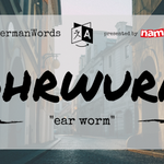 "Image for the Tweet beginning: #WeirdGermanWords: Ohrwurm (literal translation: ""ear"