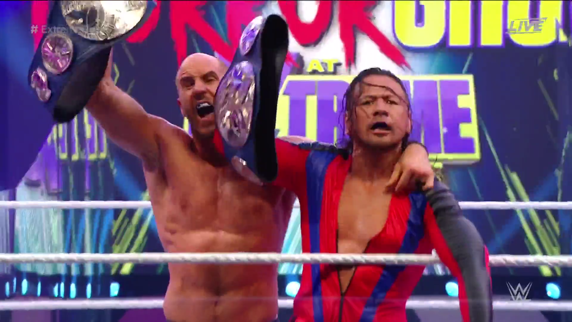 WWE Extreme Rules: New United States And Tag Team Champions Crowned 2