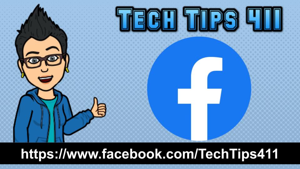 Follow #TechTips411 on @Facebook. facebook.com/TechTips411 #edtech #APSITInspires @APSInstructTech