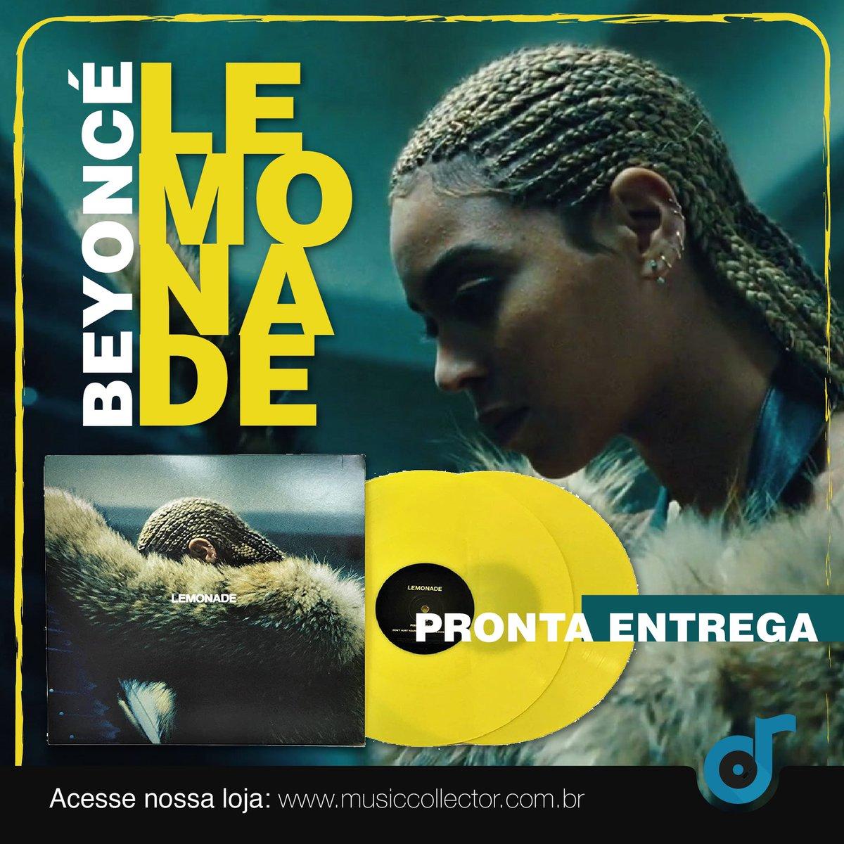 """""""Se a vida te der limão, faça uma limonada""""  E assim Beyoncé fez!  O LP duplo do LEMONADE já se encontra em nosso estoque e estará disponível para compra na abertura da loja, em 31/07.  #beyonce #lemonade #randb #vinil #vinillovers #musiccollector #musiccollectionpic.twitter.com/bFlwtHlEfB"""