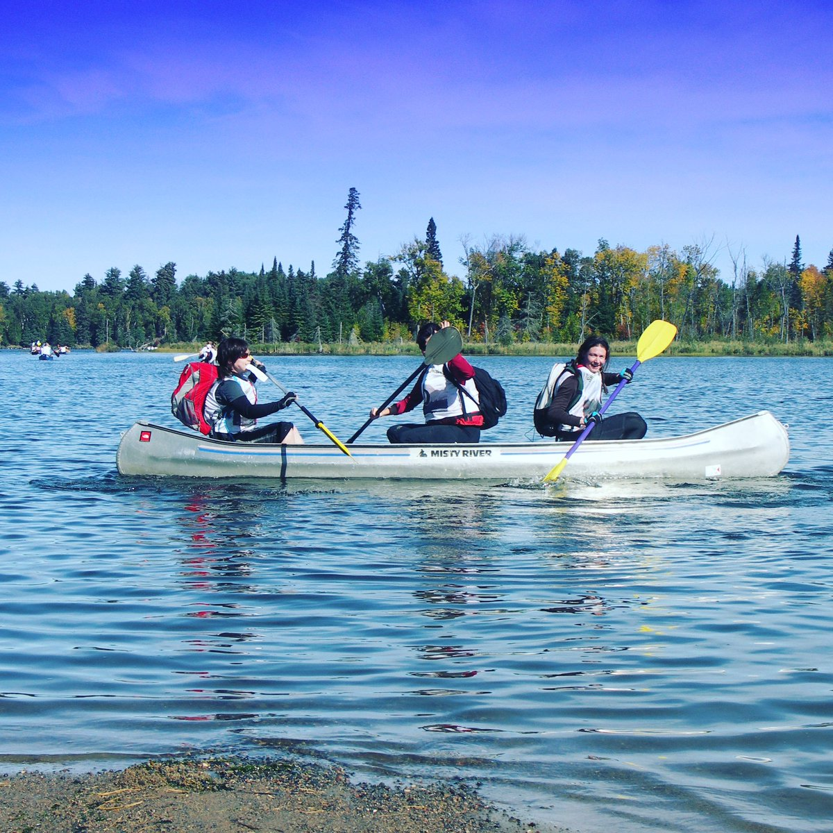 Sometimes in life (and in a race) when you DON'T work as a team, well let's just say things don't work lol #lifelessons101 Swamp Donkey Adventure Race is September 19th Whiteshell - Falcon Lake MB. Register today at http://SwampDonkeyAR.com  #SwampDonkeyAR #FalconLake #Manitoba #ARpic.twitter.com/fr3qvhw6lC