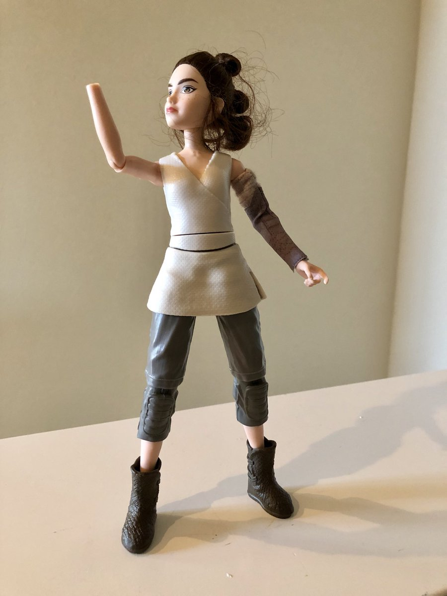Looks like my kids accidentally turned Rey into even more of a Skywalker