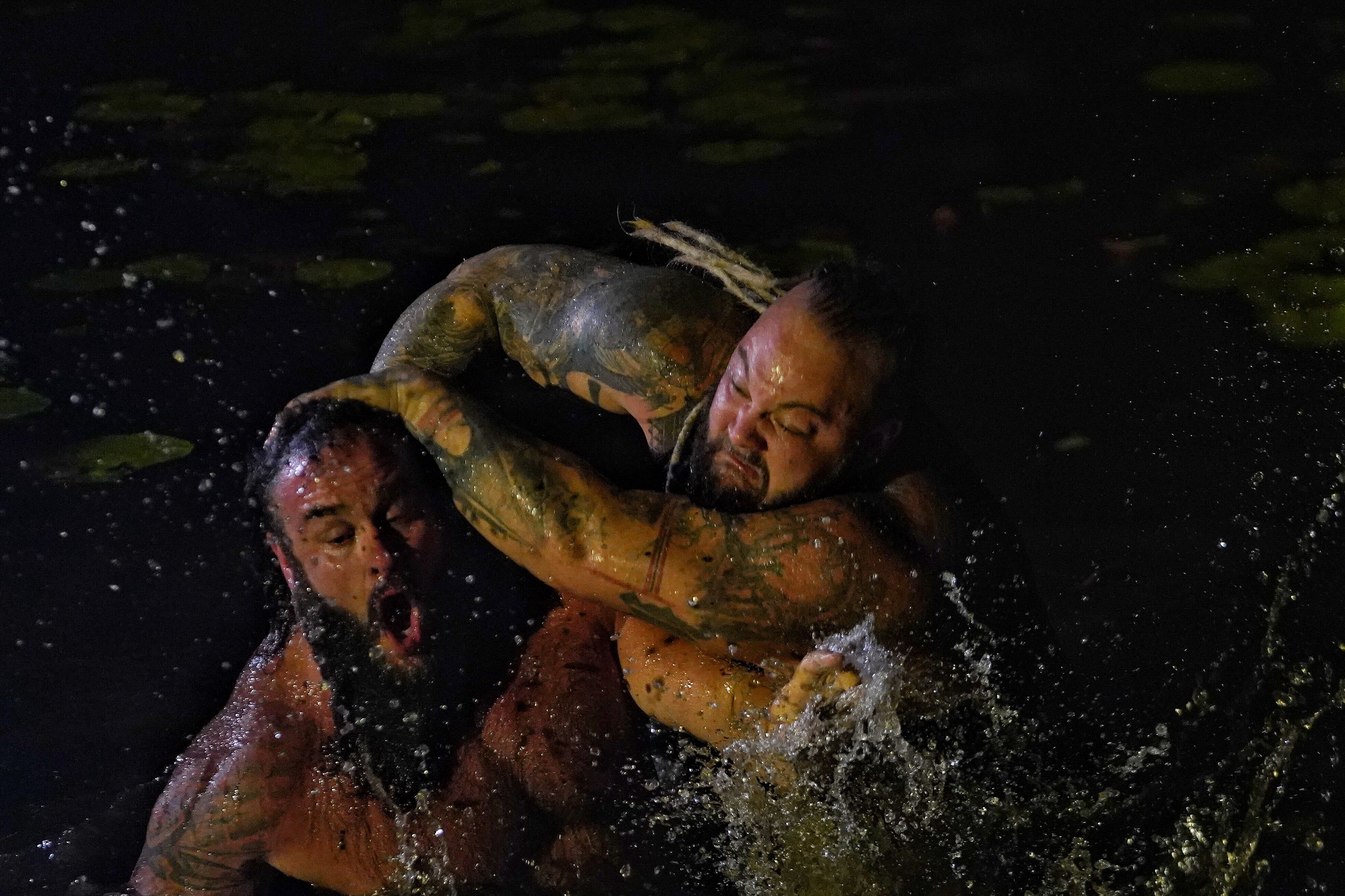 WWE Extreme Rules: The Fiend Returns To Win The Wyatt Swamp Fight 2