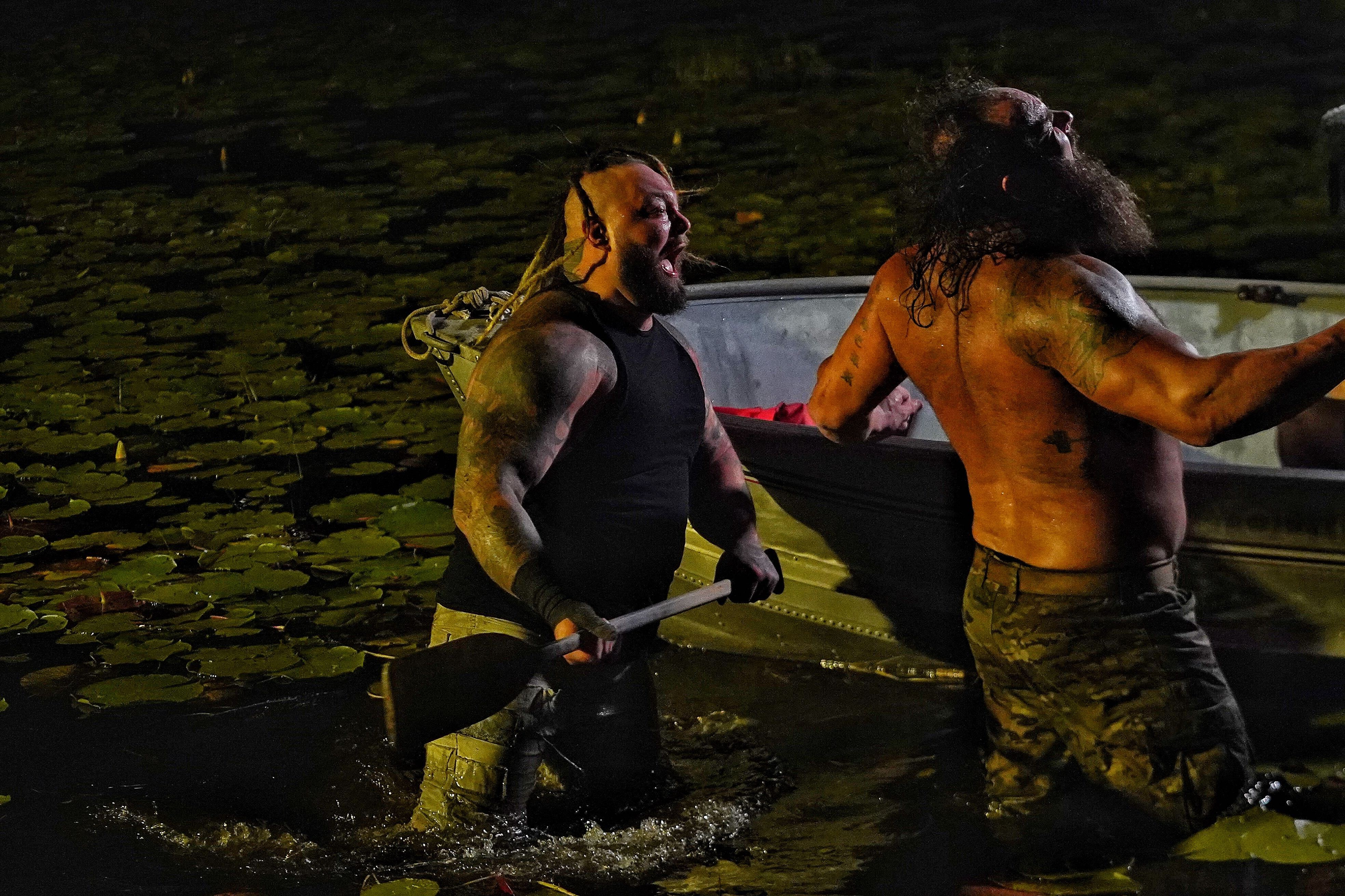 WWE Extreme Rules: The Fiend Returns To Win The Wyatt Swamp Fight 1