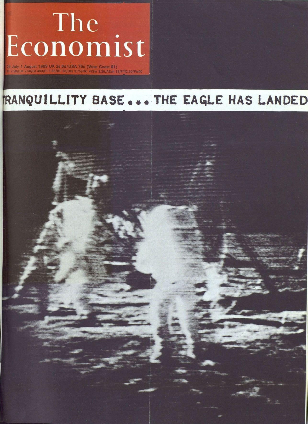 1969年:美国阿波罗11号登月舱在月球静海登陆,宇航员阿姆斯特朗成为首位踏上月球的人类。-书迷号 shumihao.com