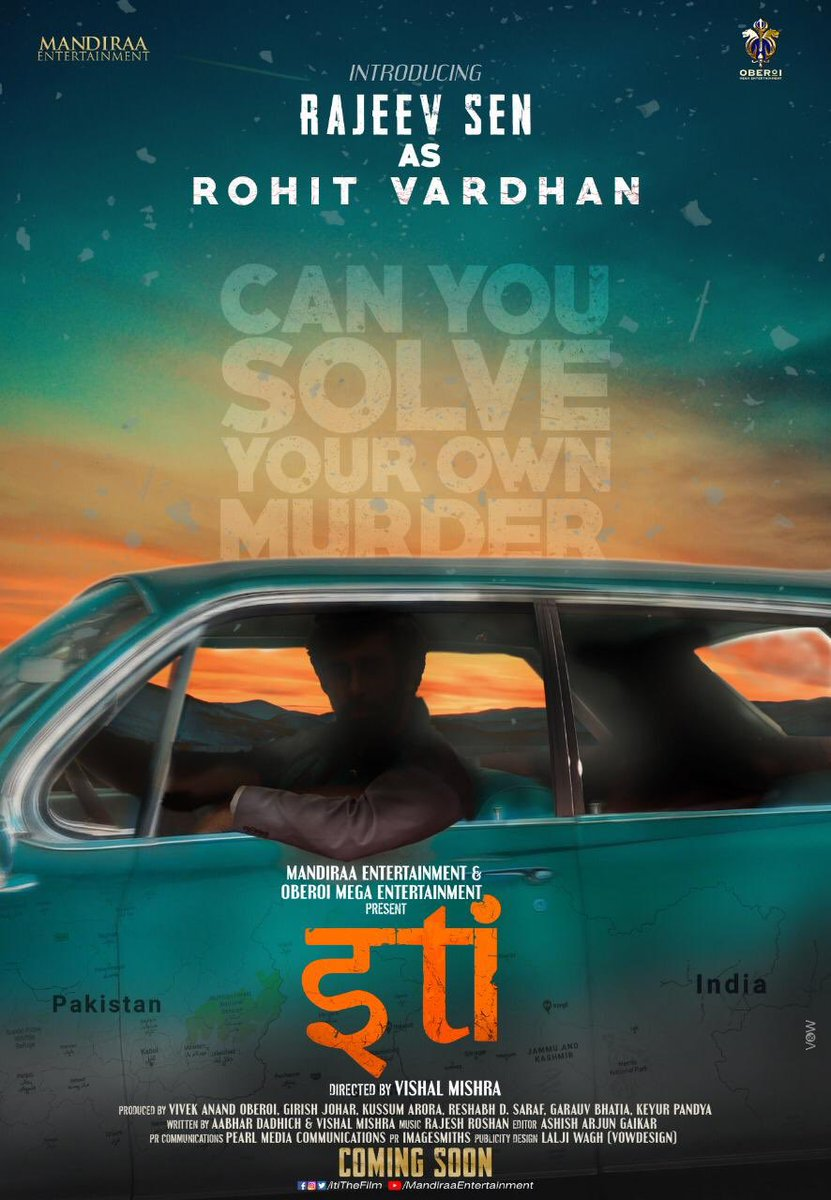 Welcoming @RajeevSen11 as #RohitVardhan in @ItiTheFilm family! Good to have you on-board, brother! #Iti #CanYouSolveYourOwnMurder @mandiraa_ent @mishravishal #PrernaVArora @IKussum @girishjohar