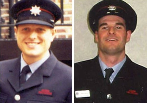 Today we remember Firefighters Adam Meere and Bill Faust who sadly died in the line of duty while attending a fire on #BethnalGreen Road 16 years ago. Our thoughts remain firmly with their loved ones and their colleagues whose bravery and professionalism we commend https://t.co/oGSTOy530z