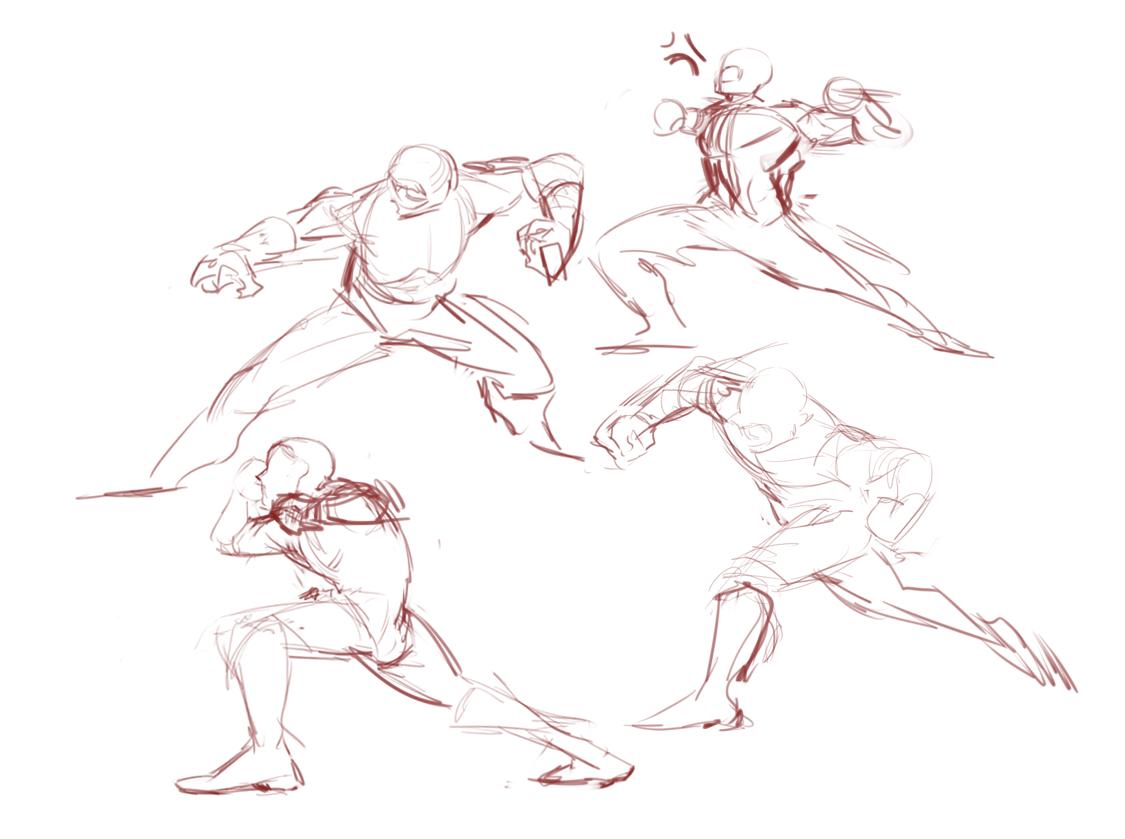 doing some rough poses for a draw umu #ArtPH